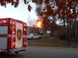 Brockton Drive Apartment Fire
