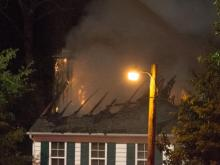 House Fire in Apex NC