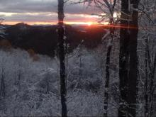 Viewer photos of snowfall in the western North Carolina mountains on Saturday, Nov. 1, 2014.