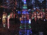 Light show in Holly Springs