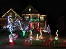 Homeowners across the Triangle deck the halls for all to see.