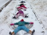 5 Snow angels