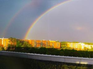 Good evening WRAL,  My name is Christopher Caporali and I am aJjunior at NC State University majoring in meteorology. I wanted to share with you all some pictures I captured at the top of Hunt Library on NC State University of the thunderstorms that passed through our area yesterday evening. Thanks!  Respectfully,  Christopher Caporali