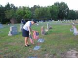 Memorial Day Ceremony in Chapel Hill