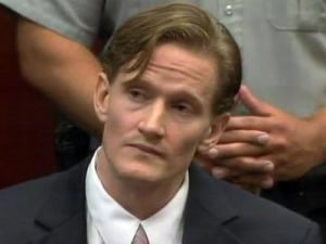 Jason Young appears during a hearing on July 20, 2011, in which Wake County prosecutors announced that they plan to re-try him on a first-degree murder charge in the November 2006 death of his wife, Michelle Young.