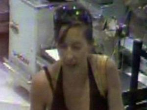 July 11, 2008, surveillance video of Nancy Cooper at a Harris Teeter with her children.
