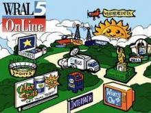 WRAL launched its website as WRAL OnLine on January 17, 1996, and was one of the first commercial TV stations with an online presence.