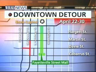 Downtown Davie Detour 1