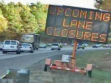Road Work Leads to Weekend I-40 Lane Closures