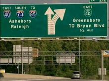 DOT to spend at least $300K to reroute I-40 in Greensboro