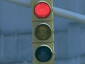 Red light, traffic light, traffic signal