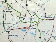 The state Department of Transportation is looking at nine possible routes for the southern arc of Interstate 540 in Wake County.