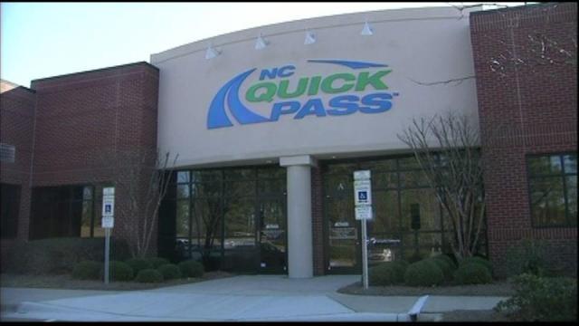 NC Quickpass, toll