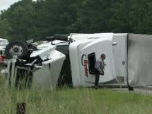 Tractor-trailer driver charged in Selma crash