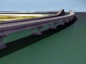 State officials want to build a $216 million bridge along the Outer Banks that parallels the aging Bonner Bridge but is designed to better withstand underwater erosion.