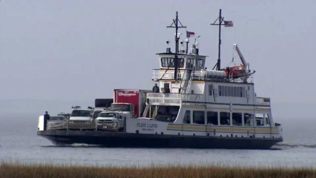 Hatteras Island emergency ferry