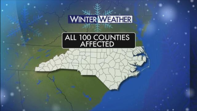 Winter storm leaves behind snow, ice and Thursday school closings
