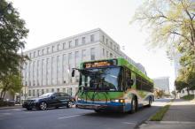 Bus photo courtesy Triangle Transit Authority