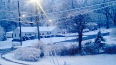 Drive 5: Flurries in Franklin County