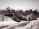 Aviation Parkway-Interstate 540 pileup