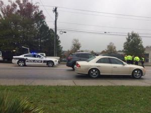 A student at Hillside High School in Durham was taken to the hospital Tuesday morning after being hit by a vehicle near the school, Durham police said.