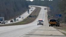 Firefighters put out a handful of brush fires Thursday morning along eastbound Interstate 40 near the Wake-Johnston county line.