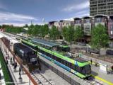 Transit image, light rail, commuter rail