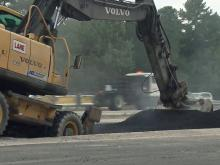 Collector lane on I-440 reopens after pavement work
