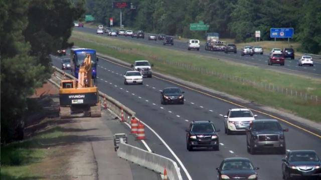 Fortify work on I-40