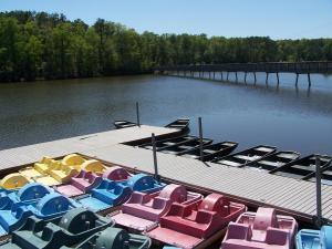 Lake Johnson Boats