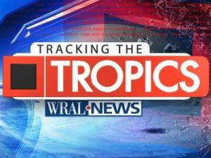 WRAL News hurricane coverage logo