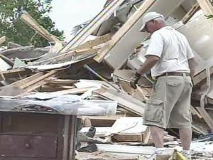 Triad cleans up after 2 tornadoes