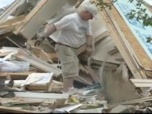 Clemmons residents clean up after tornado