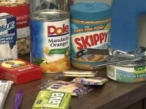 People should have a hurricane kit ready when the season starts June 1, officials said. Items should include peanut butter, canned fruit and other non-perishable items.