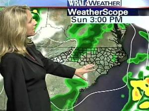 An unstable atmosphere makes rain likely Sunday and Monday, WRAL meteorologist Kim Deaner says.