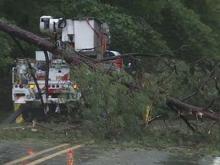 Storms strike Orange County