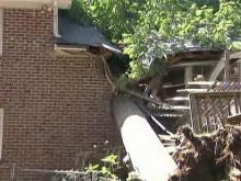 Salvation Army-owned home split in half