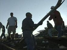 Tornado clean-up requires volunteers, residents