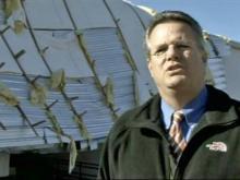 Pastor 'thankful' storm damage wasn't worse