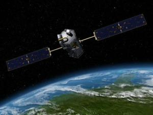 Artist conception of the NASA Orbiting Carbon Observatory (Courtesy: NASA)