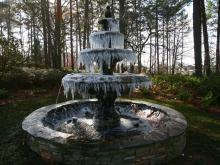 Cold WRAL fountain