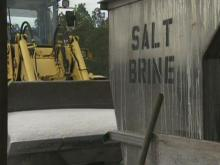 DOT's salt-brine mix