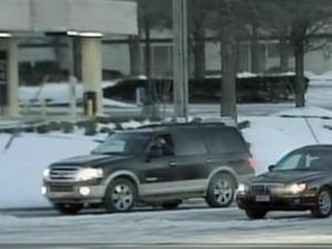 Cars were moving at normal speeds in downtown Fayetteville Monday.
