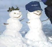 Snow-meteorologist and bride