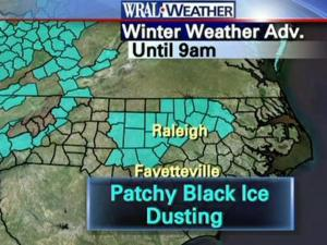 Freeze warning in effect