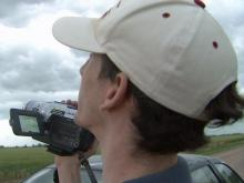 Storm chasers go on the hunt