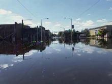 Flood waters begin to recede in Windsor