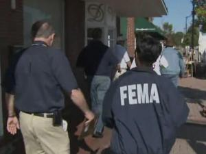Representatives of the Federal Emergency Management Agency and State Emergency Response Team began assessing damage  Tuesday from rain and floods in eastern North Carolina.