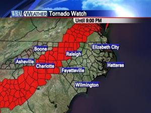 Tornado watch through 9 p.m. Oct. 27, 2010