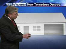 How tornadoes destroy